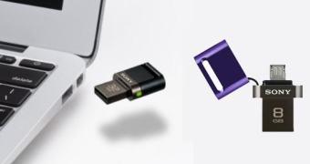 Sony anuncia pendrive pra Android