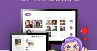 Viber Desktop aterrissa no Windows 8