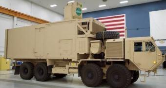 Pentágono testando caminhão laser antidrone