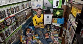 Conheça o novo dono da maior coleção de games do mundo