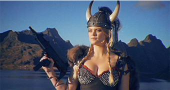 Kung Fury — O Melhor Filme do Universo, via Kickstarter