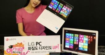LG apresenta novos Slide PC, ultrabook e AIO de 27 polegadas para a CES 2014