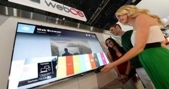 LG: 70% das Smart TVs lançadas em 2014 rodarão WebOS