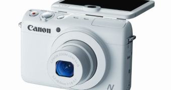 Canon Powershot N100 – todo mundo aparecendo na foto
