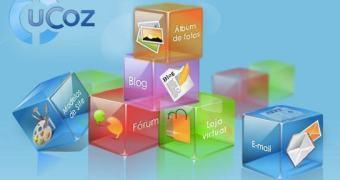 uCoz: crie seu site grátis