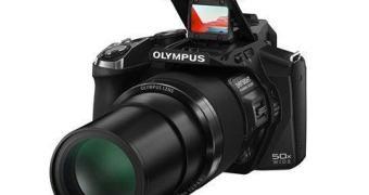 Olympus Stylus SP-100 – mira para telefoto
