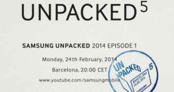 Samsung começa a enviar convites para evento na MWC 2014