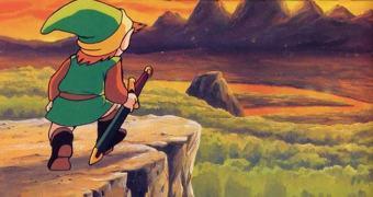 A antiga Hyrule vista pelos olhos do Link