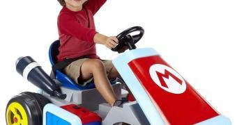 Empresa venderá carrinho elétrico do Mario Kart para crianças