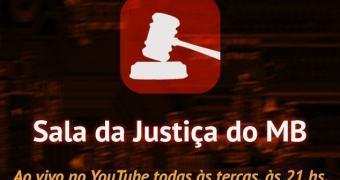 Assista ao nosso programa Sala da Justiça #9 ao vivo no YouTube!