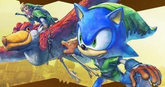 Eis que surge um crossover oficial entre Sonic e Zelda