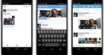 Twitter adiciona marcação de pessoas e upload de 4 imagens por tweet
