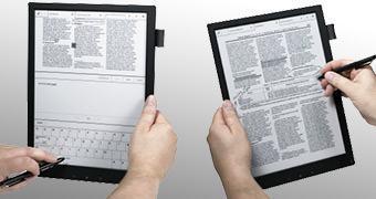Sony Digital Paper: Tablet com tela e-ink é leve, fino e bem caro