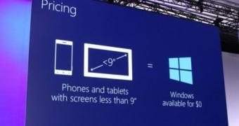 BUILD 2014: dispositivos de até 9″ não pagarão licença do Windows