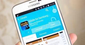 Dispositivos Galaxy receberão versão exclusiva da Kindle Store