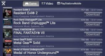 Vita passa a rodar quase todos os jogos de PSP e PS1