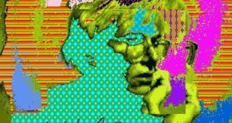 Artworks perdidos de Andy Warhol encontrados em disquetes de Amiga