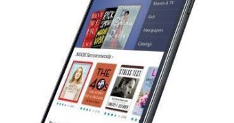 Barnes & Noble e Samsung  anunciam o Galaxy Tab 4 Nook