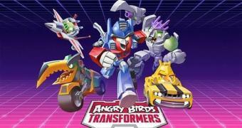 A bizarra mistura entre Angry Birds e Transformers