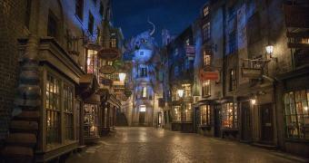 Conheça mais sobre o Beco Diagonal do parque temático de Harry Potter