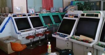 Quem aí nunca achou uma coleção de arcades?