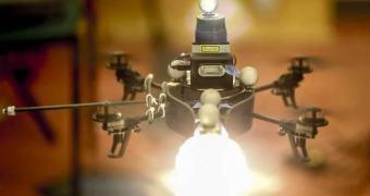 Futuro da Fotografia – iluminação via Drone?
