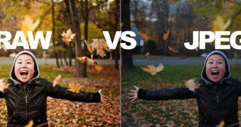 Usando exemplos da vida real para mostrar as diferenças entre RAW e JPEG