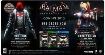 Batman: Arkham Knight terá DLC com o Capuz Vermelho