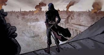 A sangrenta animação do Assassin's Creed Unity