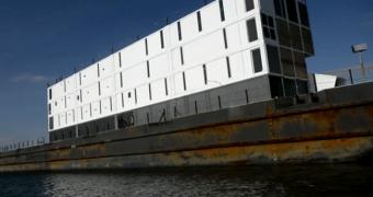 A barcaça do Google (metaforicamente) naufragou