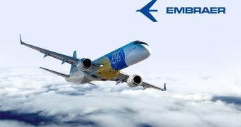 Embraer E195-E2 — um dock de iPad de US$ 60 milhões