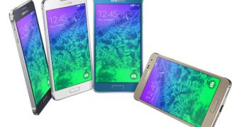 Galaxy Alpha, o terceiro top de linha da Samsung