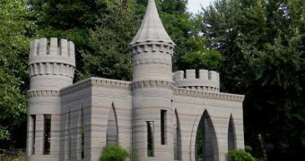 Um castelo impresso em 3D