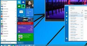 Confira o Menu Iniciar do Windows 9 ao vivo e se mexendo!