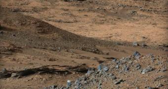 Curiosity alcança sua meta de longo prazo, uma enorme montanha marciana