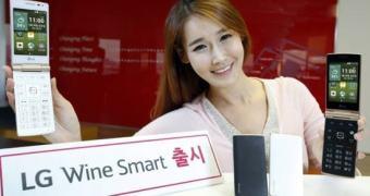 LG entra na moda dos smarts flip com o Wine Smart