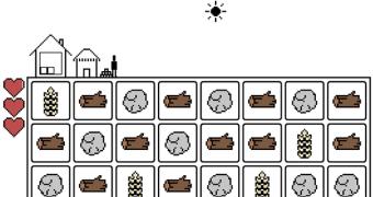Gridland, uma viciante mistura de Bejeweled com Minecraft