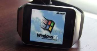 Hackerismo nível mais de 8 mil: Windows 95 num smartwatch