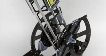 Telescópio impresso em 3D com Lumia 1020