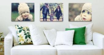 Transforme suas fotos em belos quadros com o Flickr Wall Art
