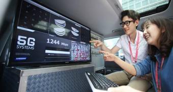 Samsung testa 5G com download de 7,5 Gb/s