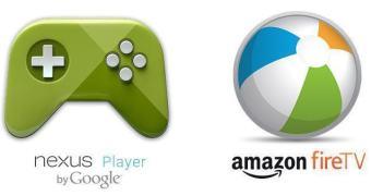 Qual o melhor micro-console para jogos Android: o da Amazon ou o do Google?