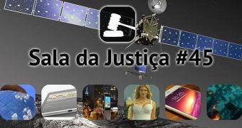 Sala da Justiça #45 — O histórico pouso da Philae e muito mais!