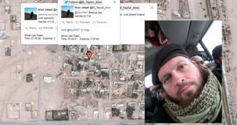Amigo Terrorista: não poste tweets com geolocalização. Fica fácil demais.