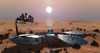 Acharam um Beagle em Marte (não aquele)