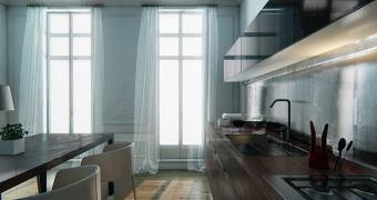 O ultra realista apartamento feito na Unreal Engine 4