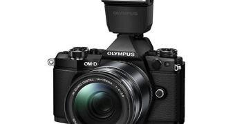 Olympus OM-D E-M5 II — com modo de alta resolução com 40 MP