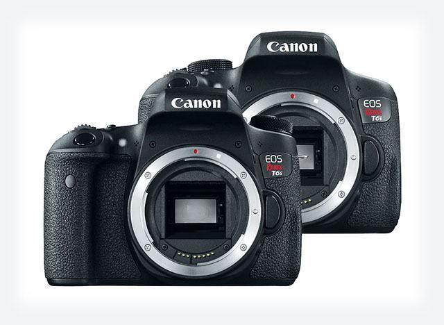 Canon EOS Rebel T6s e T6i