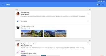 Inbox enfim chega aos tablets, Firefox e Safari