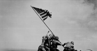 """Raising the Flag on Iwo Jima"